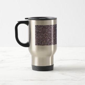 Pizarra de la piedra caliza del ciruelo taza
