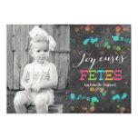 Pizarra de la tarjeta el | de Joyeuses Fêtes Anuncios Personalizados
