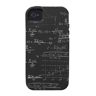 Pizarra de las estadísticas Case-Mate iPhone 4 funda