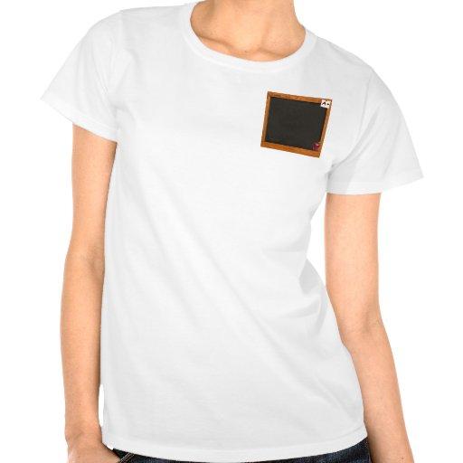 Pizarra del profesor camiseta