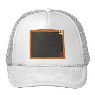 Pizarra del profesor gorras de camionero