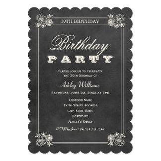 Pizarra negra de las invitaciones el | de la invitación 12,7 x 17,8 cm