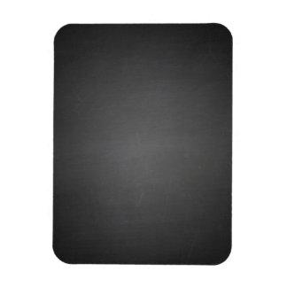 Pizarra negra rústica impresa imanes rectangulares
