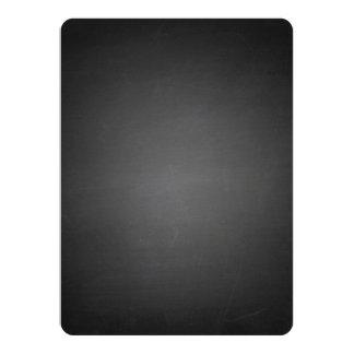 """Pizarra negra rústica impresa invitación 5.5"""" x 7.5"""""""