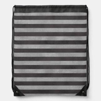 Pizarra, rayas horizontales de la tiza mochilas