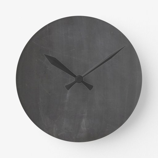 Pizarra Reloj Redondo Mediano