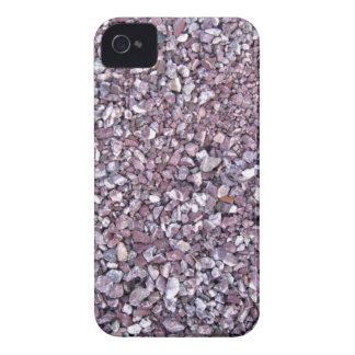 Pizarra rosada de la piedra caliza del ciruelo iPhone 4 cobertura