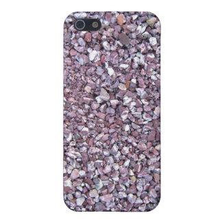 Pizarra rosada de la piedra caliza del ciruelo iPhone 5 fundas