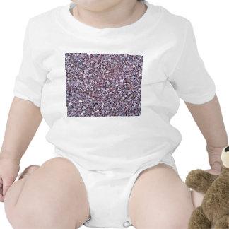 Pizarra rosada de la piedra caliza del ciruelo camisetas