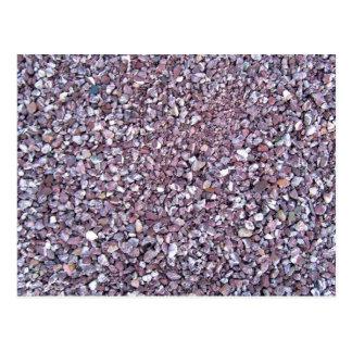 Pizarra rosada de la piedra caliza del ciruelo postal