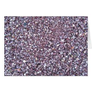 Pizarra rosada de la piedra caliza del ciruelo tarjetón