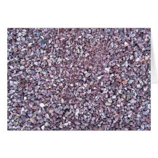 Pizarra rosada de la piedra caliza del ciruelo tarjeta