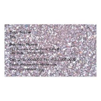 Pizarra rosada de la piedra caliza del ciruelo tarjetas de visita