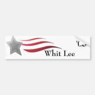 Pizca Lee para el presidente pegatina para el para Pegatina Para Auto