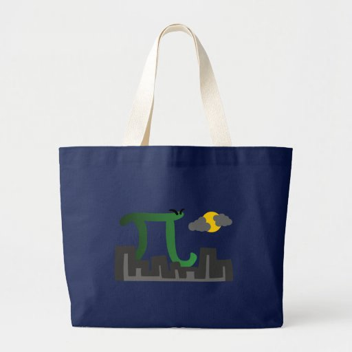 Pizilla Jumbo Tote Bag