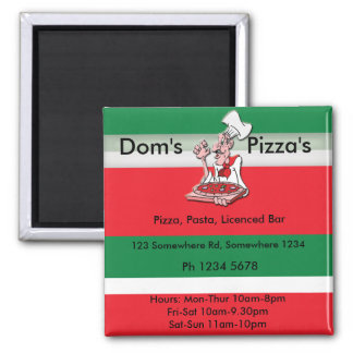 pizza4 magnets
