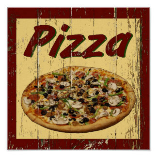 Pizza 1 poster