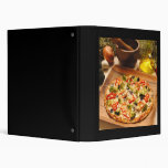 Pizza 3 Ring Binders