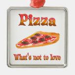 Pizza a amar adorno
