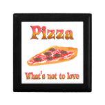 Pizza a amar caja de recuerdo