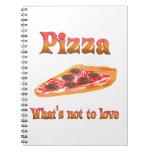 Pizza a amar cuaderno