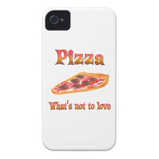 Pizza a amar iPhone 4 Case-Mate cárcasas