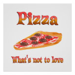 Pizza a amar posters