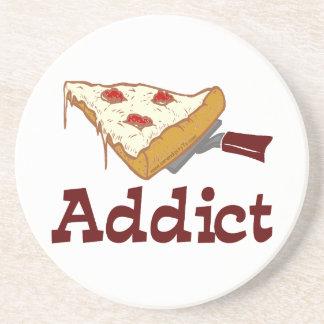 Pizza Addict Drink Coaster