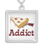 Pizza Addict Custom Necklace