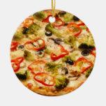 Pizza Adorno Redondo De Cerámica