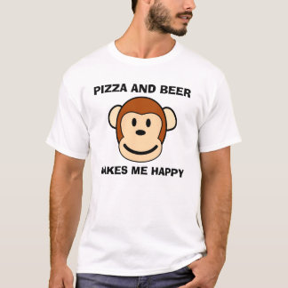 PIZZA and BEER, Funny T-shirts