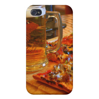 Pizza And Beer iPhone 4 Cover