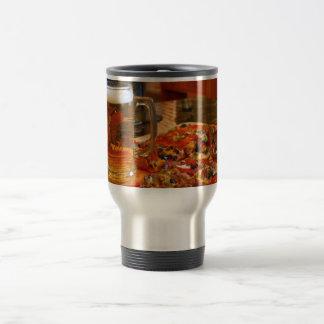 Pizza And Beer Travel Mug
