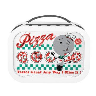 Pizza Any Way I Slice It Retro Lunch Box