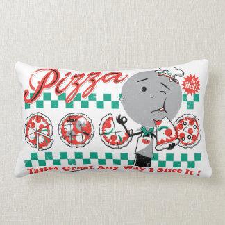 Pizza Any Way I Slice It Retro Pillow — LUMBAR
