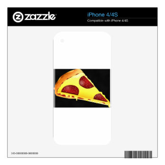Pizza Art Skin For iPhone 4S