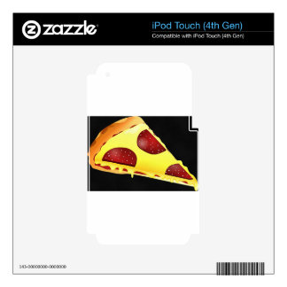 Pizza Art Skin For iPod Touch 4G