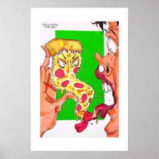 pizza attacks poster