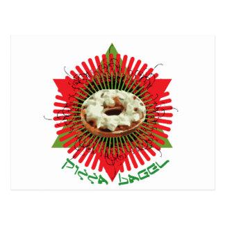 Pizza Bagel : Jewish Italian Postcards