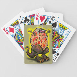 Pizza Beast Bicycle Playing Cards