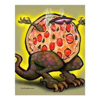 Pizza Beast Letterhead
