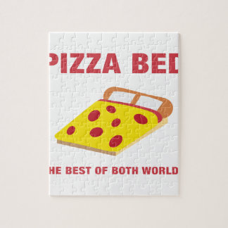 Pizza Bed Jigsaw Puzzle