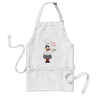 Pizza Birthday Party Adult Apron