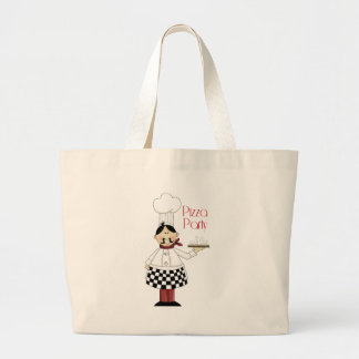 Pizza Birthday Party Canvas Bag