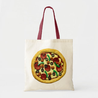 Pizza Birthday Party Tote Bag