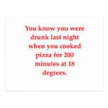 pizza borracha postal