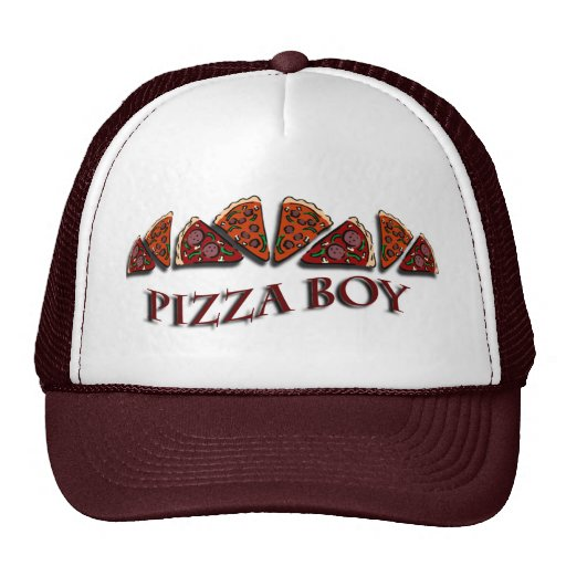 Pizza Boy Trucker Hats