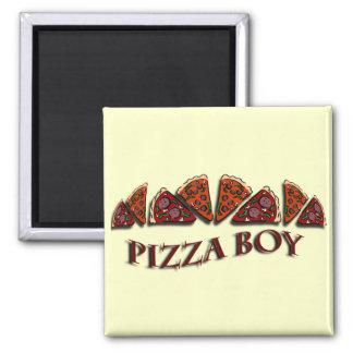 Pizza Boy Refrigerator Magnet