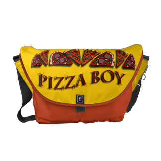 Pizza Boy Messenger Bags