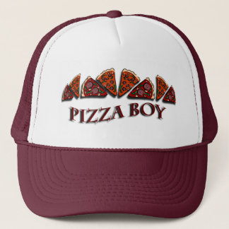Pizza Boy Trucker Hat